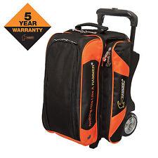 Hammer 2 Ball Premium Roller Black Orange Bowling Bag Fast Shipping