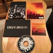 Disturbed - Ten Thousand Fists CD A5 Coffret Livre Ltd Ed Drowning Pool Godsmack