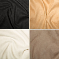 HAVANNA Luxury STRETCHY Faux Suede Suedette Fabric Material