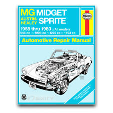 Haynes Repair Manual for 1960-1979 MG Midget - Shop Service Garage Book hi