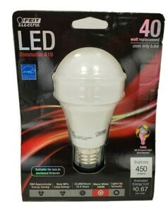 Feit Electric BPOM40/830/LED A19 3000k Dimmable LED, 40W