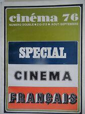Cinéma 76 n°212-213- 1976 : Spécial Cinéma Français