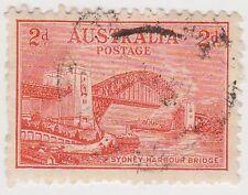 (WO154) 1932 AU 2D SYDNEY HARBOUR BRIDGE (D)