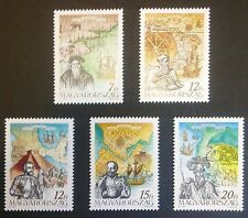 HUNGARY-WĘGRY-MAGYAR STAMPS MNH - Discovery of America, 1991, **