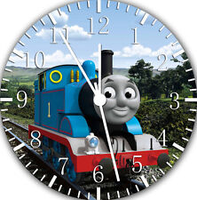 "Thomas Train wall Clock 10"" will be nice Gift and Room wall Decor E140"
