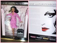 BARBIE DIANE VON FURSTENBERG  by Sharon Zuckerman # J9185 ANNO 2006 NRFB DOLL