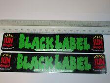 NOS pair Sun Ringle Black Label rim wheel decals stickers bmx bicycle bike