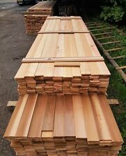 Canadian Western Red Cedar Tongue And Groove Timber Cladding (15m²) - TGV