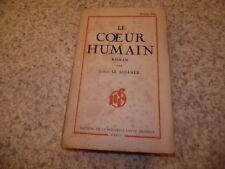 1938.Le coeur humain.Louis Le Sidaner (envoi)