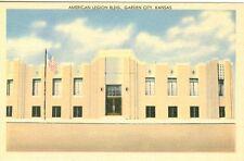 Garden City, KS The American Legion Building 1947
