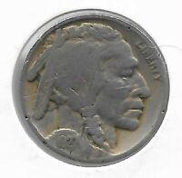 Rare Antique 1927 US Buffalo Indian Nickel Collectible Collection Coin LOT:C75