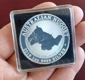 Australien 1 Unze Silber Australian Nugget 2019   Welcome Stranger