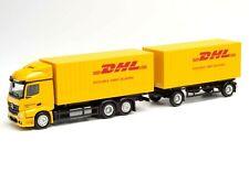 "HERPA Modell 1:87/H0 MB Actros StreamSpace 2.3  `18 Cargoboxen-HZ ""DHL"" #311809"