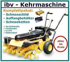 ✅ Kehrmaschine,100cm Räumbreite 6,5PS 4Takt Motor,Benzin,220 V E-Start,robust ✅