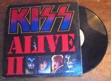 Kiss double record album Alive II