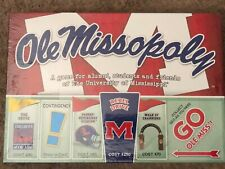 Ole Miss Monopoly Missopoly Collectors College Board Game BRAND NEW Mississippi