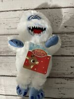 """Rudolph Red Nose Reindeer Bumble Abominable Snowman Plush Toy 8"""" NEW with tag"""
