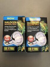 New listing Exo Terra Halogen Basking Spot Light Bulb - Reptile Terrarium Heat Lamp Bulbs