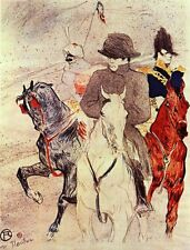 Napoleon Bonaparte on Horseback Toulouse Lautrec Giclee Canvas / Fine Art Poster