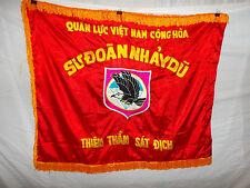 flag86 Vietnam Vietnamese RVN Airborne flag Quyet Chien Quyet Thang 2 sided