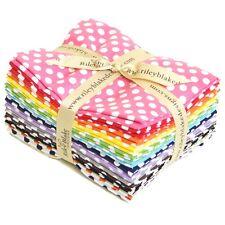 Dots Small Fabric Fat Quarter Bundle for Riley Blake, 14 pieces 100% cotton