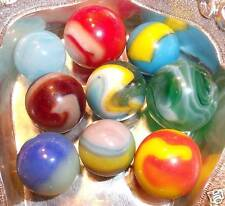 lot 9 high quality machine made marbles 2 superman