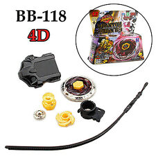 Beyblade Metal Fusion Phantom Orion B:D Bottom 4D System BB-118 Fight Master Set