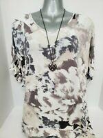 Juicy Couture Women's Blouse Size-L Multi-Color