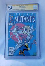 MARVEL COMICS NEW MUTANTS #58 1987 CGC Signature Serires L. Simonson 9.4 WP