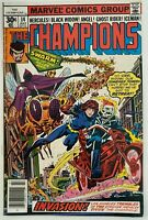 THE CHAMPIONS 14 / MARVEL Comics English / 6.0 FINE + / 1977
