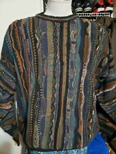 Vintage 90' Cosby's Style 3d Florence Tricot Sweater Men Xl