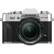 FUJIFILM X-T30 Mirrorless Digital Camera w/ 18-55mm Lens (Silver) USA WARRANTY