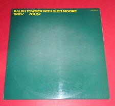 Ralph Towner with Glen Moore - Trios / Solos -- LP / Jazz