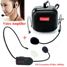 2016 New Mini 25W Portable Waistband Voice Booster PA Amplifier Loudspeaker Mic