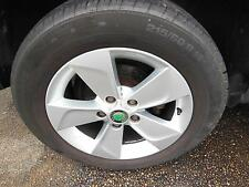 SKODA YETI, 4 x MAG WHEELS, FACTORY, 16X6IN, NEVIS, 5L, 09/11-03/14