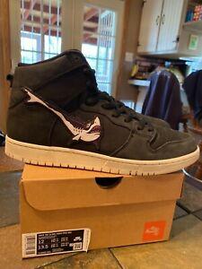 Nike SB Dunk High x Oski Shark (C12692-001) Men's Size 12 Orange Label