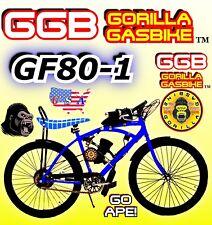 "66cc/80cc 2-Stroke Motorized Bike Kit And 26"" Bike Power Diy Motor Bike System"