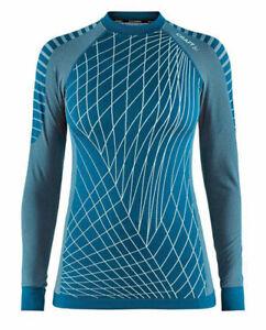 Functional Baselayer Underwear CRAFT Active Intensity, Ladies, Long Sleeve Blue