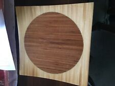 GORGEOUS square wood table centerpiece 12 X 12 INCHES-CONVEX