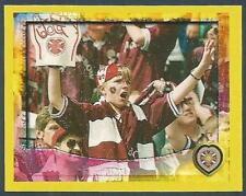 PANINI SCOTTISH PREMIER LEAGUE 2000- #164-HEARTS-YOUNG FAN CHEERS ON HIS TEAM