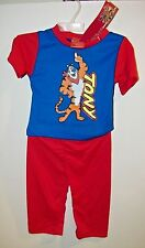 Kellogg's Frosted Flakes Tony The Tiger 2 Pc. Pajamas Set Infant 12/18 Months