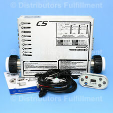 Hot Tub Heater Control Digital Spa Controller Pack C5 United Spas CBT7 & 5 cords