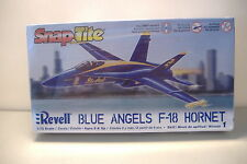 ~BLUE ANGELS F-18 HORNET~1/72 SCALE REVELL SNAPTITE UNASSEMBLED KIT~NEW~