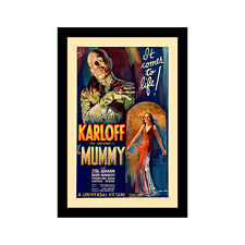 THE MUMMY (1932) - 11x17 Framed Movie Poster by Wallspace
