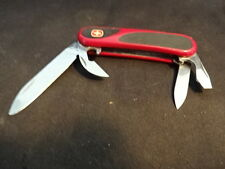 Vtg Wenger Military Evogrip Multi Army Folding Pocket Knife