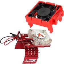 Powerhobby Traxxas Velineon VXl-3 ESC Cooling Fan + 540 Motor Fan COMBO Red