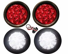 2 + 2 BACKUP LIGHTS AND LED STOP TURN AND TAIL LIGHTS TRUCK TRAILER RV NEW
