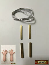 M01039 MOREZMORE HPA Hand Armature Stop Motion Puppet Tubes Wire DWS