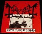 Mayhem: Deathcrush - Limited Edition LP 180G Black Vinyl Record 2009 BOB UK NEW