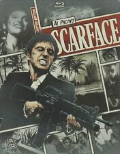SCARFACE LIMITED EDITION STEELBOOK BLU-RAY NEW SEALED